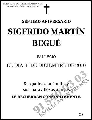 Sigfrido Martín Begué